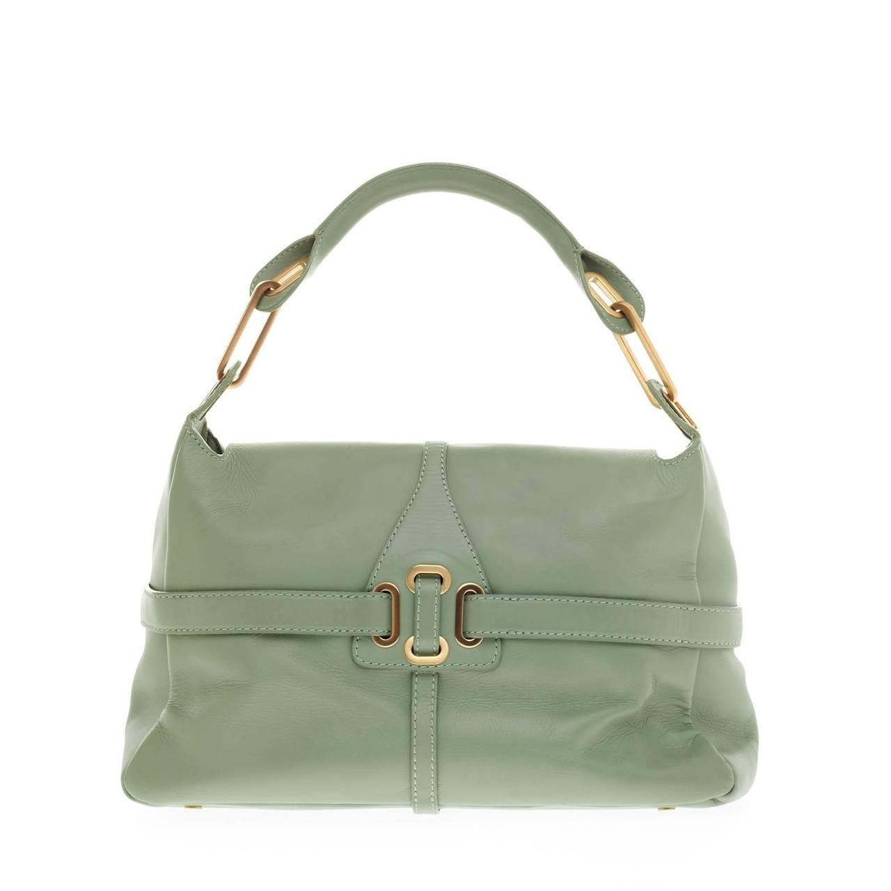 Jimmy Choo Tulita Shoulder Bag Leather 4