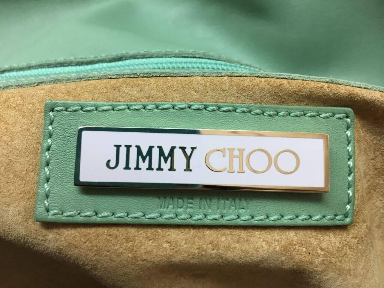 Jimmy Choo Tulita Shoulder Bag Leather For Sale 4