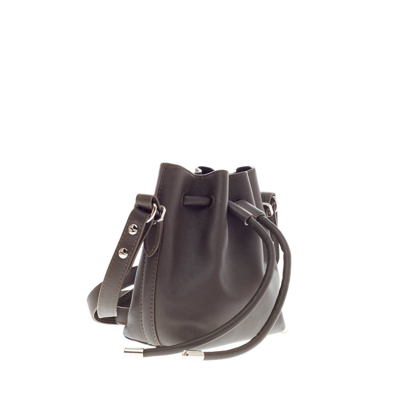 Proenza Schouler Bucket Bag Leather Tiny In Good Condition For Sale In New York, NY