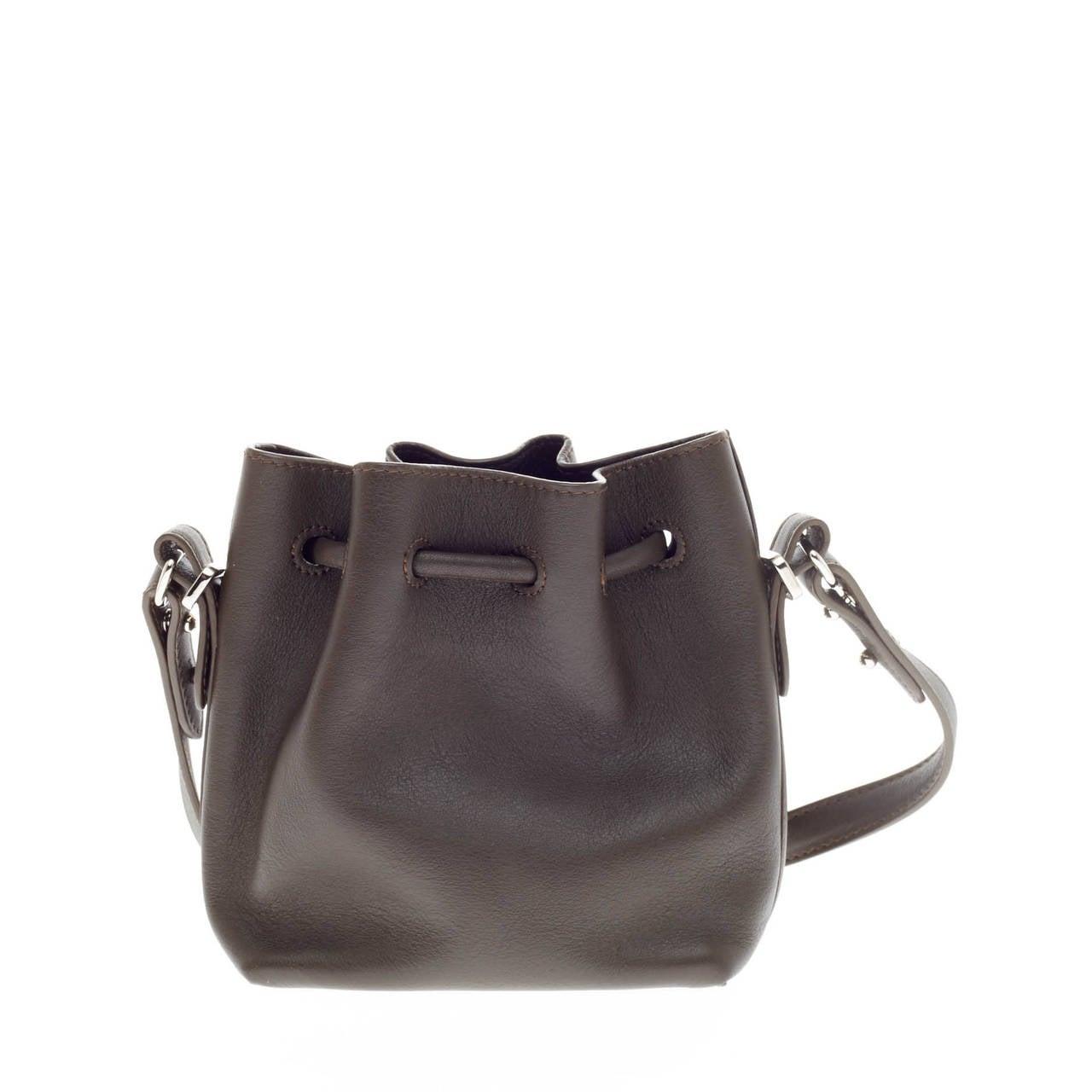 Women's Proenza Schouler Bucket Bag Leather Tiny For Sale