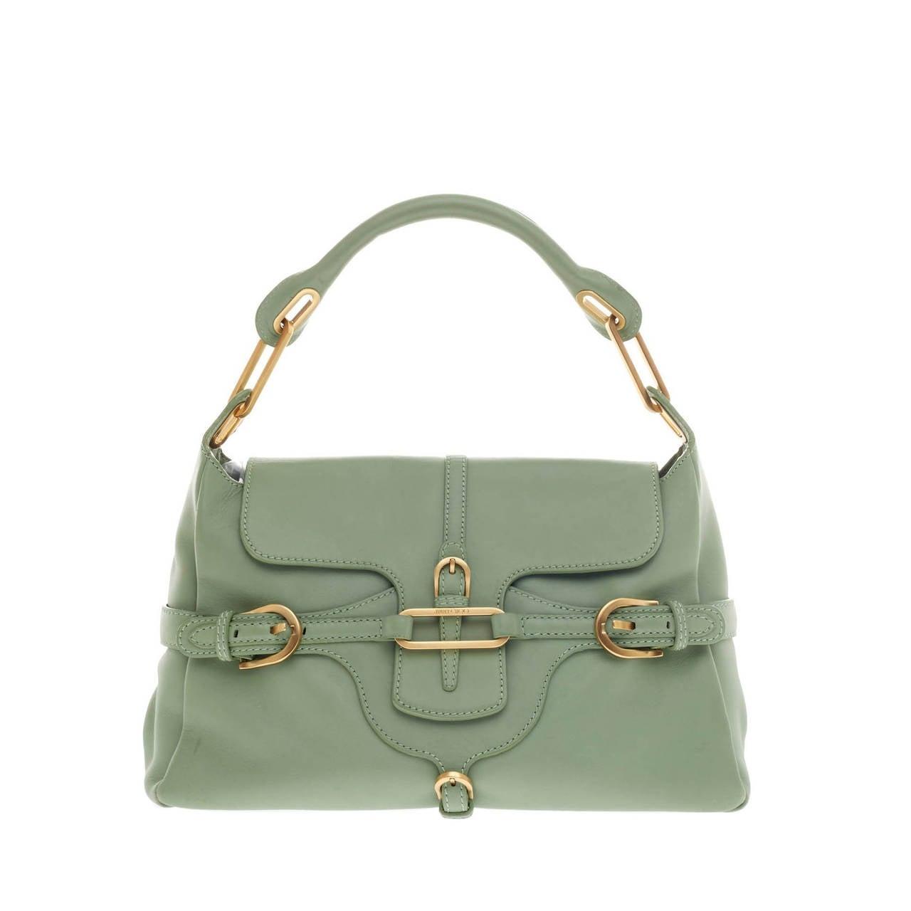 Jimmy Choo Tulita Shoulder Bag Leather For Sale
