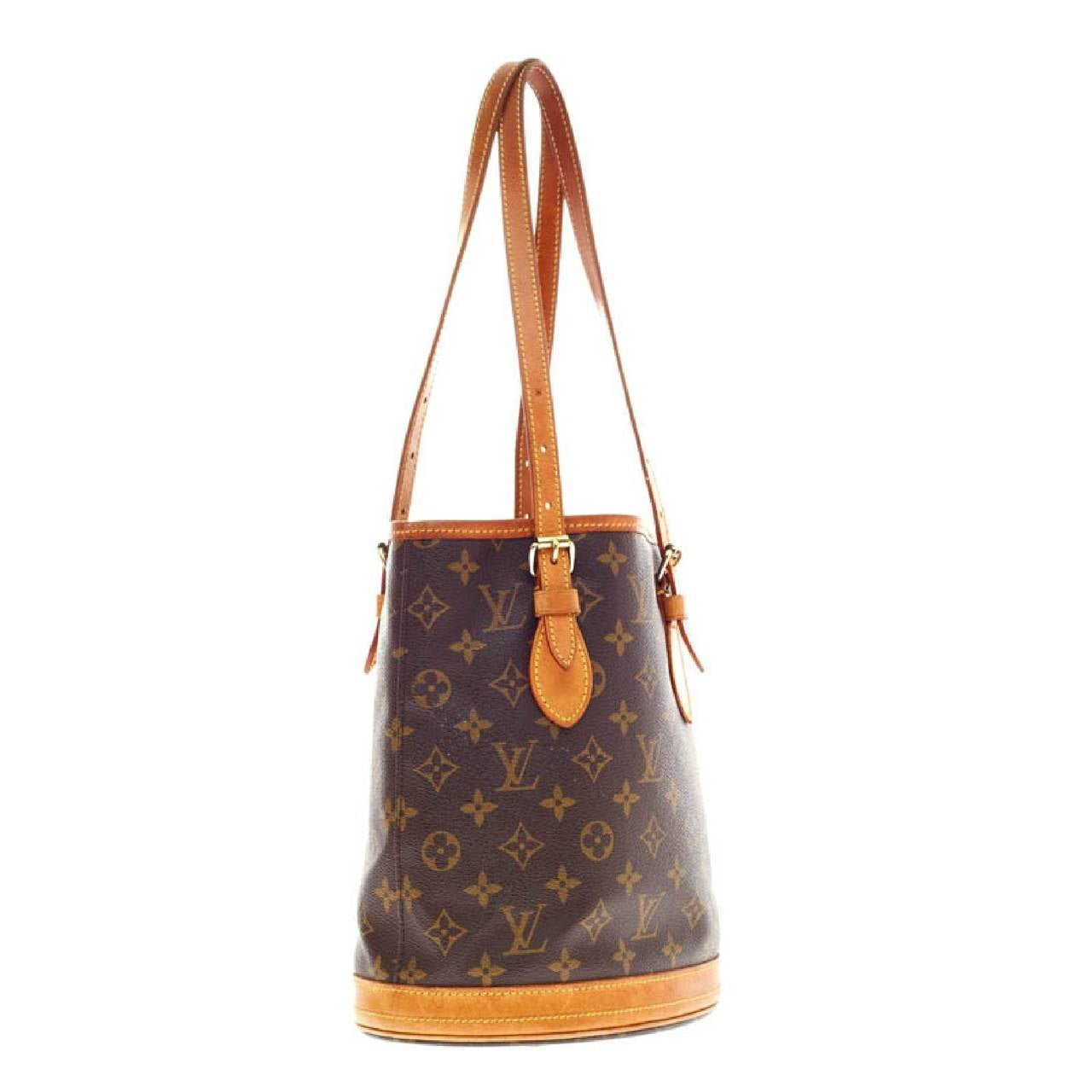 Louis Vuitton Bucket Bag Canvas Pe In Good Condition For New York Ny