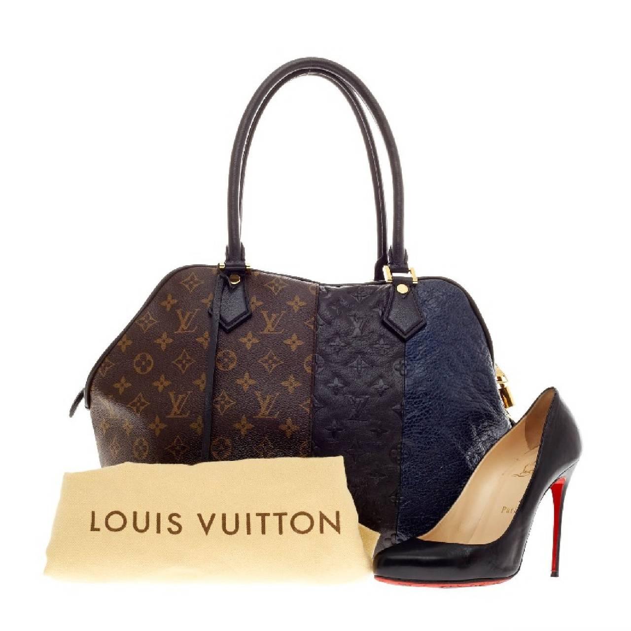 f7b41b6544c Louis Vuitton Blocks Zipped Tote Limited Edition Monogram at 1stdibs. Tote  Miroir Patent Leather - Handbags ...