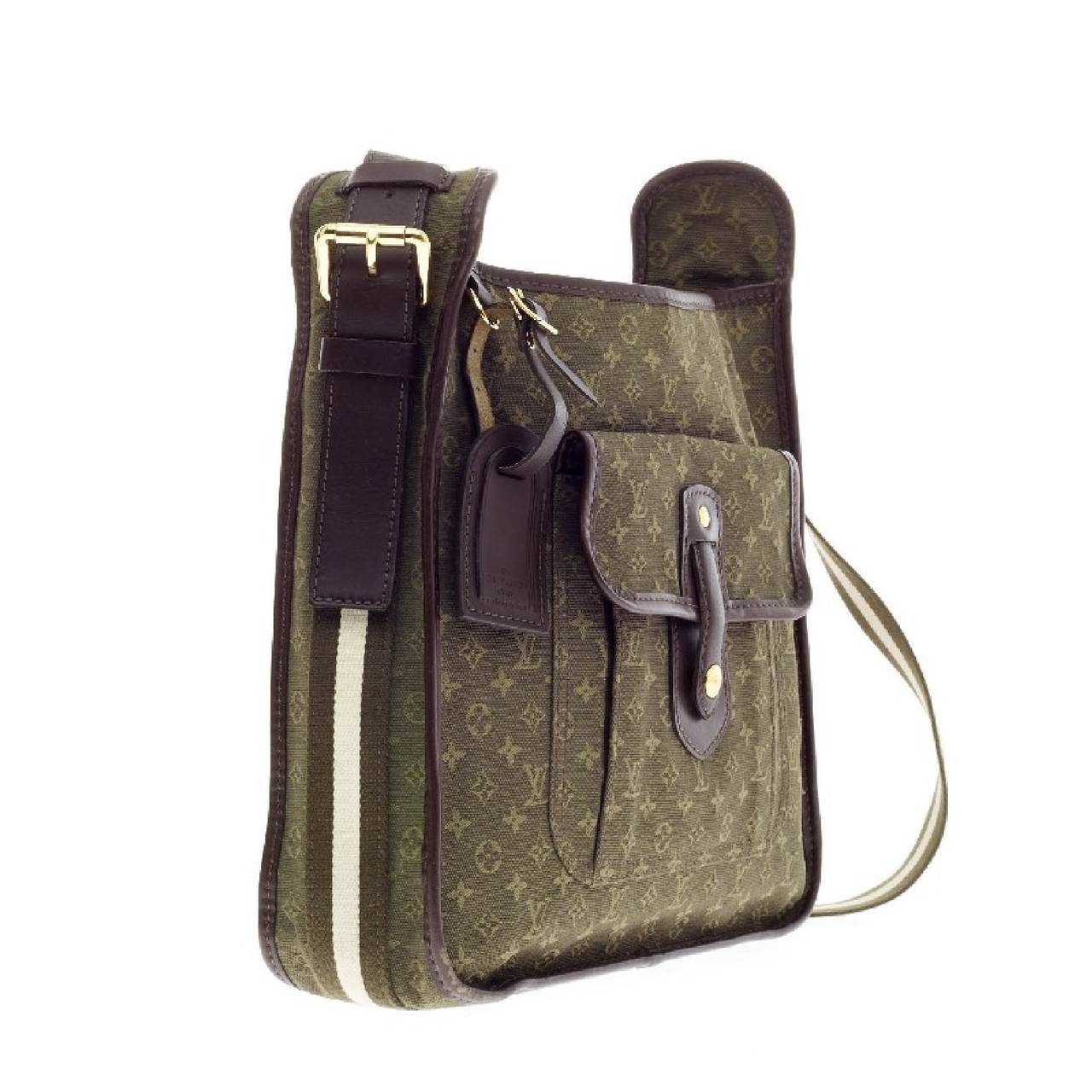 louis vuitton mary kate bescace mini lin messenger at 1stdibs