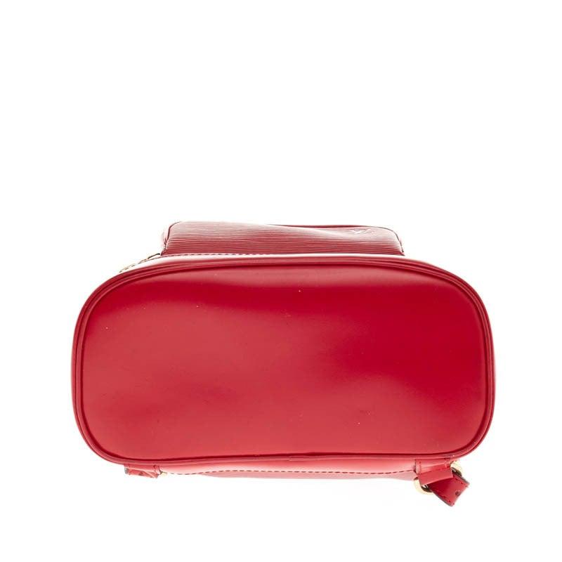 Louis Vuitton Backpack Montsouris Epi Leather PM 5