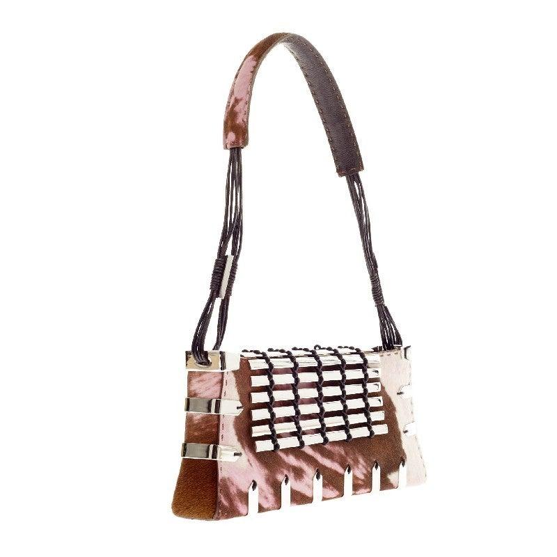 VBH Diva Shoulder Bag Embellished Pony Hair 3