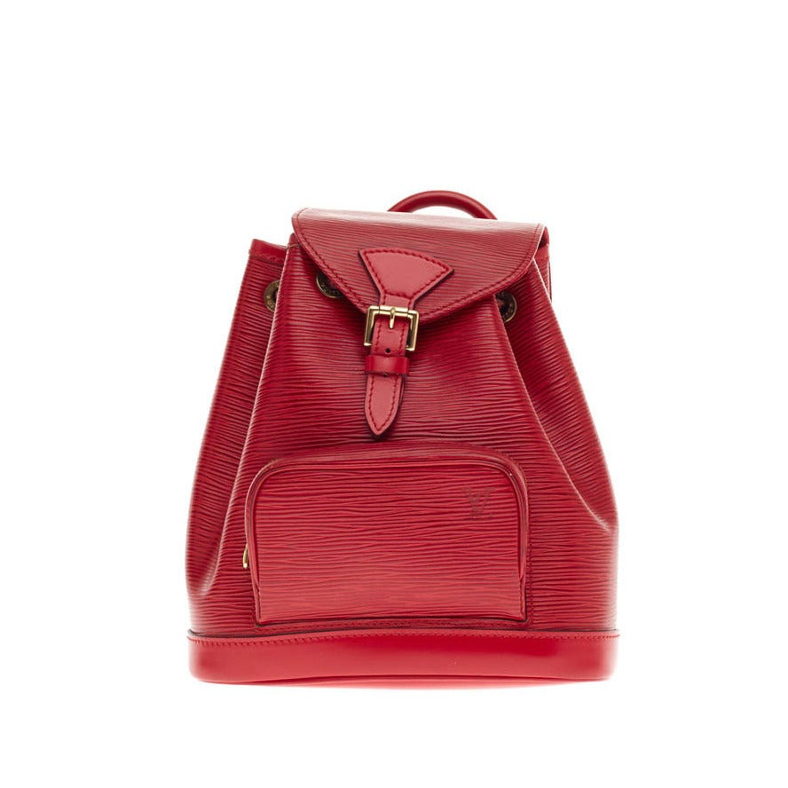 Louis Vuitton Backpack Montsouris Epi Leather PM at 1stdibs