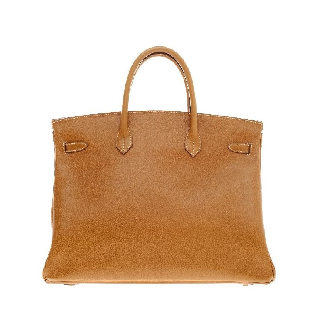 Hermes Birkin Natural Ardennes with Gold Hardware 40 4