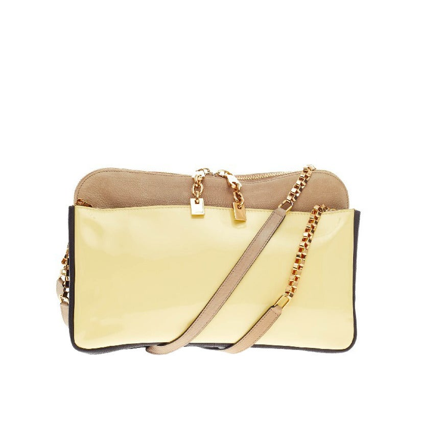 Chloe Lucy Shoulder Bag Leather at 1stdibs