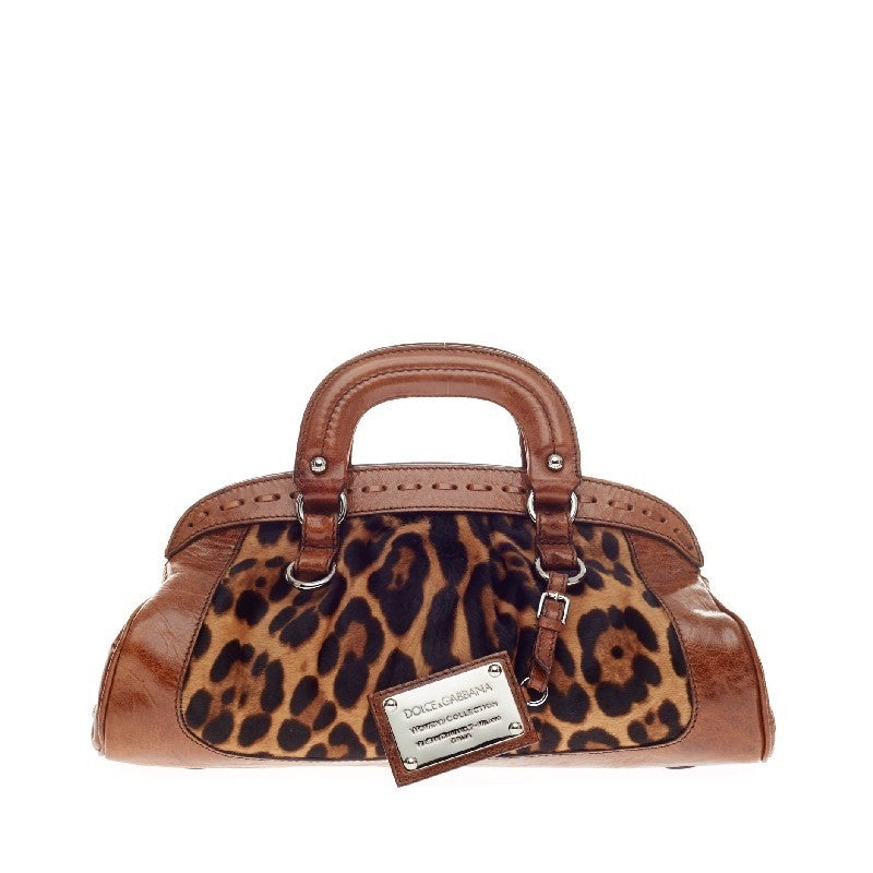 Dolce And Gabbana Miss Romantique Handle Bag Ponyhair At
