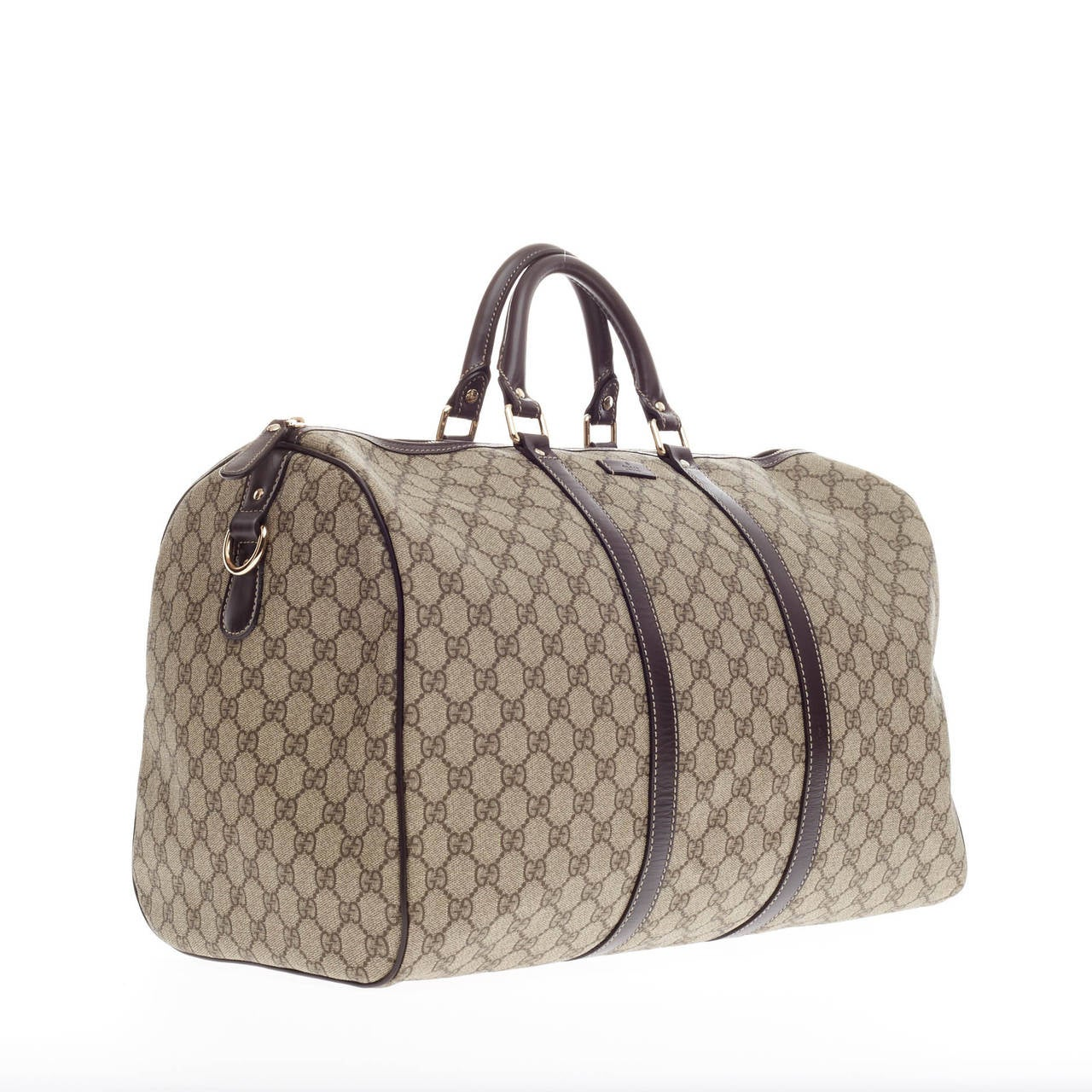 d402775d2df53 Gucci Joy Travel GG Coated Canvas In Good Condition For Sale In New York