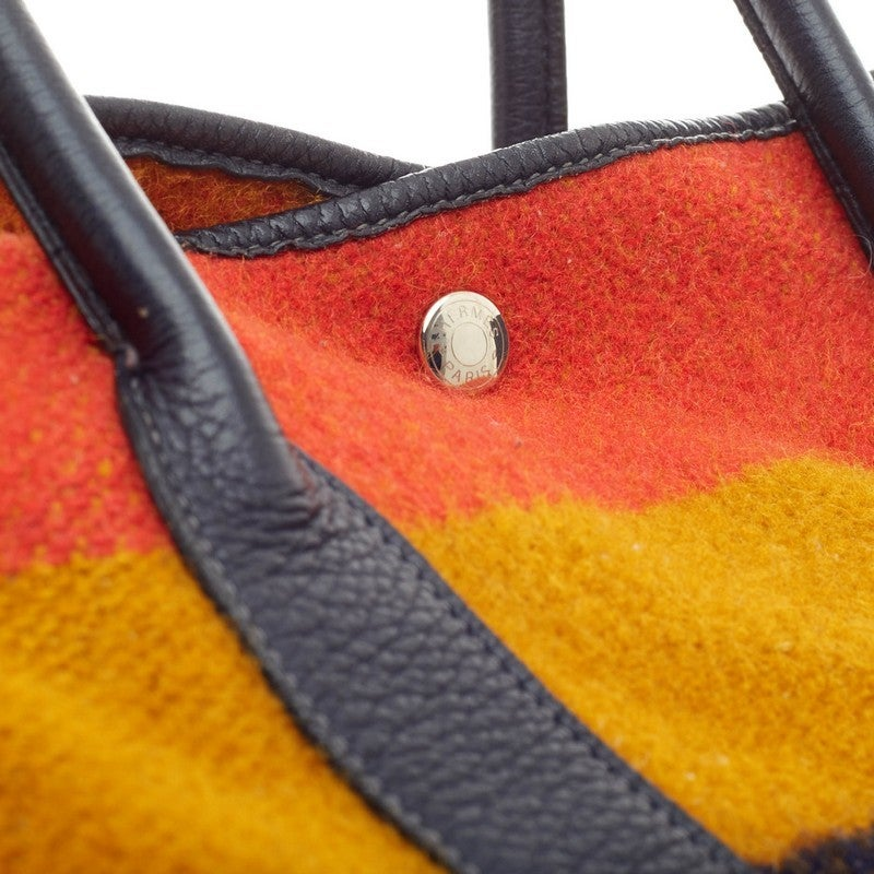 Hermes Garden Party Tote Rocabar and Fjord Leather MM at 1stdibs