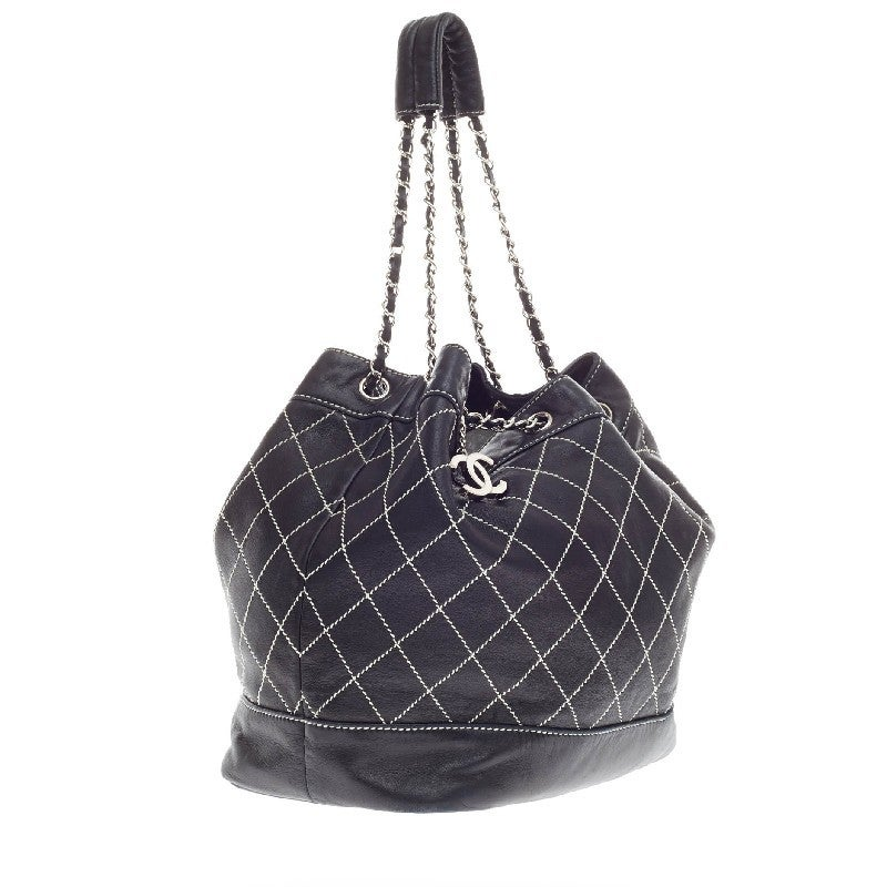 46d2eb5f3e18 Chanel Bucket Bag Black And White | Stanford Center for Opportunity ...