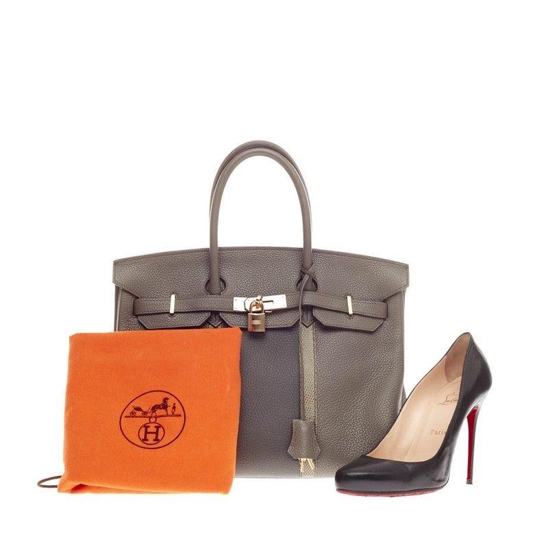 hermes birkin bag cost - Hermes Club Birkin Etain, Graphite Clemence and Gris Fonce Lizard ...