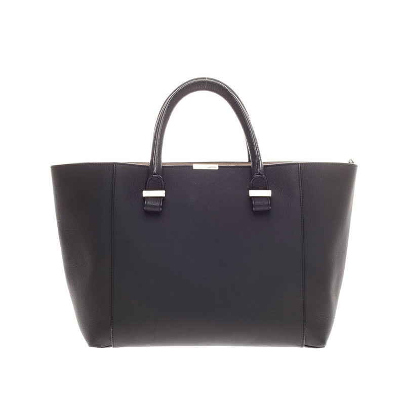 1e8b09eb04b8 Victoria Beckham Quincy Tote Leather In Good Condition For Sale In New  York