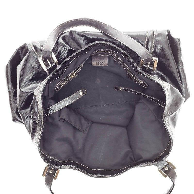 0b5949d9a075 Gucci Dialux Britt Tote Patent For Sale 2