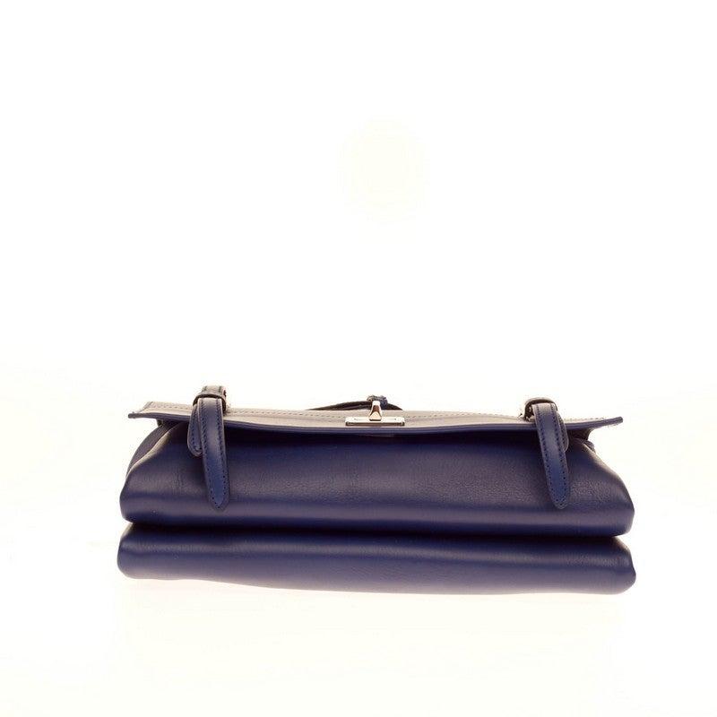 Prada Lux Double Shoulder Bag Calfskin For Sale at 1stdibs