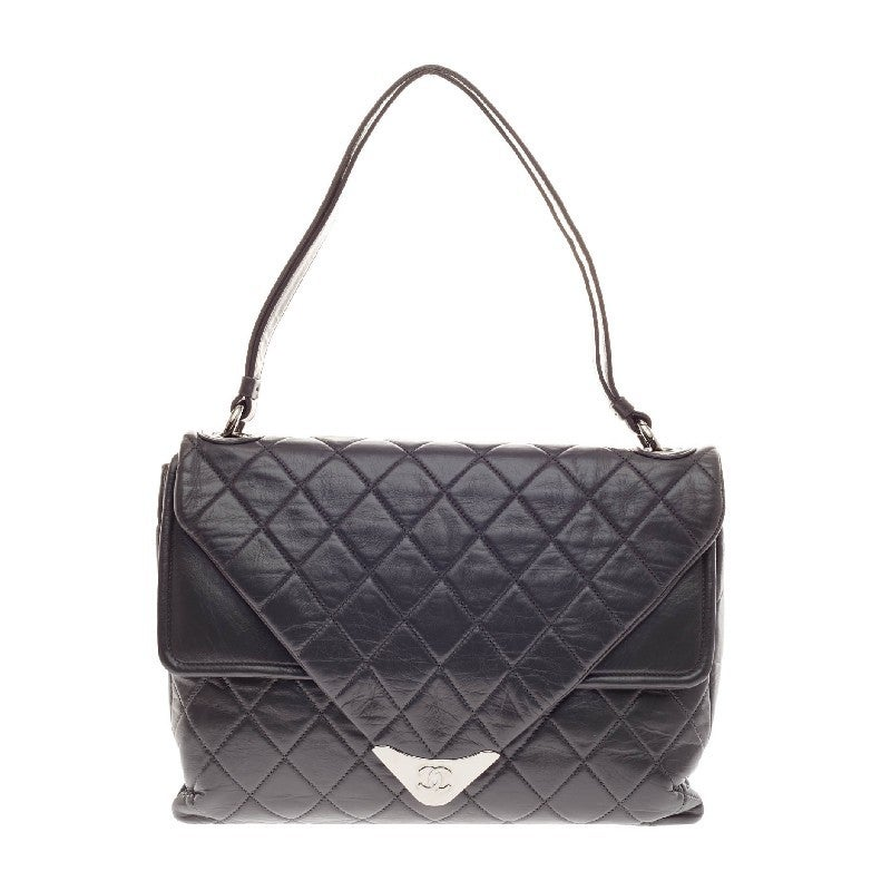 267b493018ab Chanel Padded Envelope Flap Quilted Leather at 1stdibs