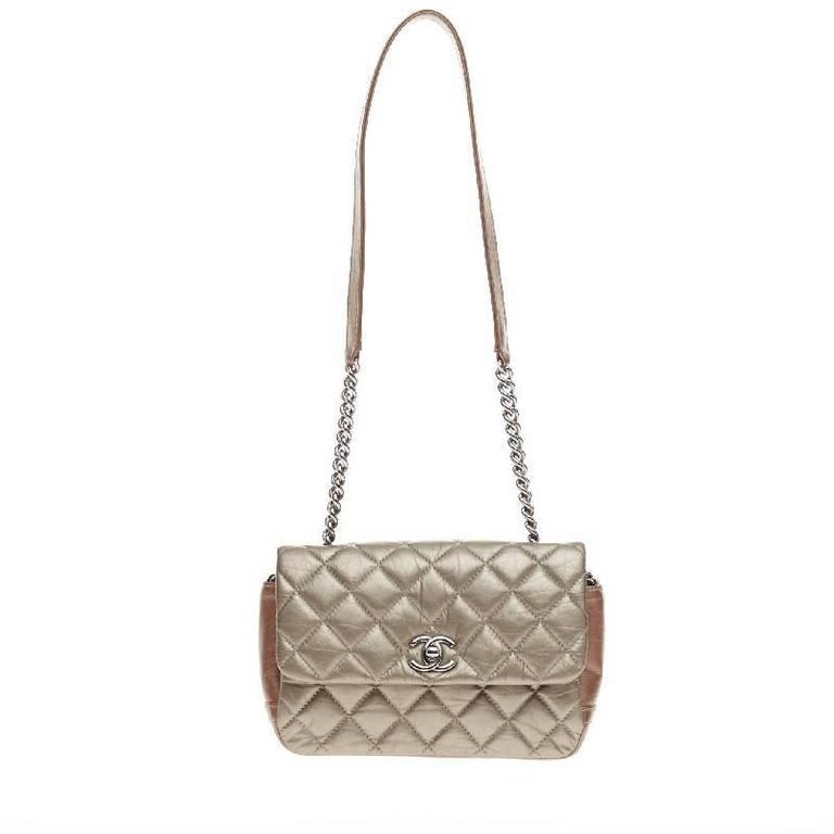 a2eba8207935 Chanel Lady Pearly Flap Bag Quilted Calfskin Mini at 1stdibs