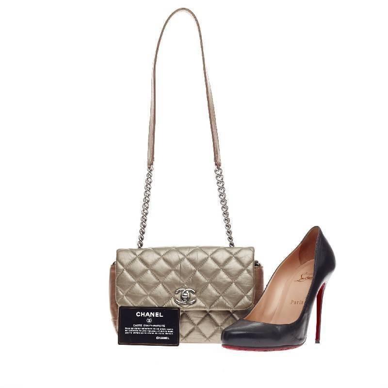 f9380aa62f2528 Chanel Lady Pearly Flap Bag Quilted Calfskin Mini at 1stdibs