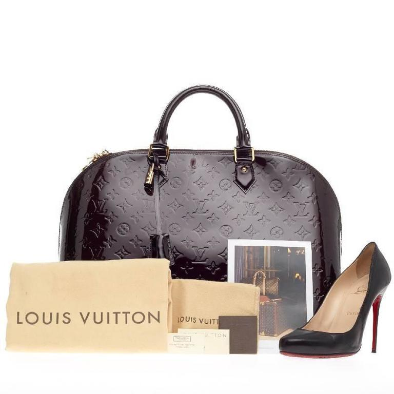 Louis Vuitton Alma Monogram Vernis GM 2