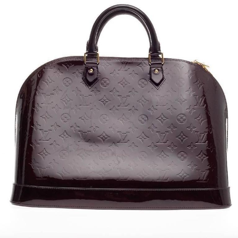 Women's Louis Vuitton Alma Monogram Vernis GM For Sale