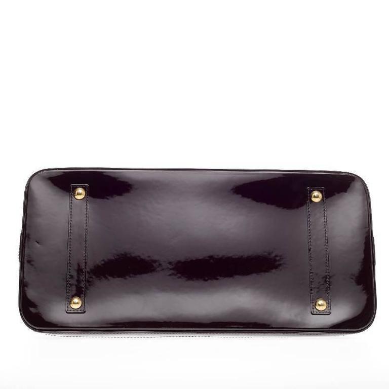 Louis Vuitton Alma Monogram Vernis GM For Sale 1