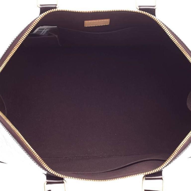 Louis Vuitton Alma Monogram Vernis GM For Sale 2