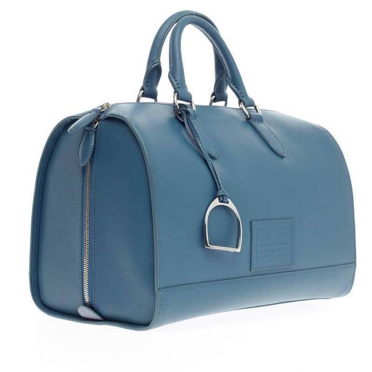 Ralph Lauren Stirrup Boston Bag Vachetta Leather at 1stdibs 2e4acc8a6a905