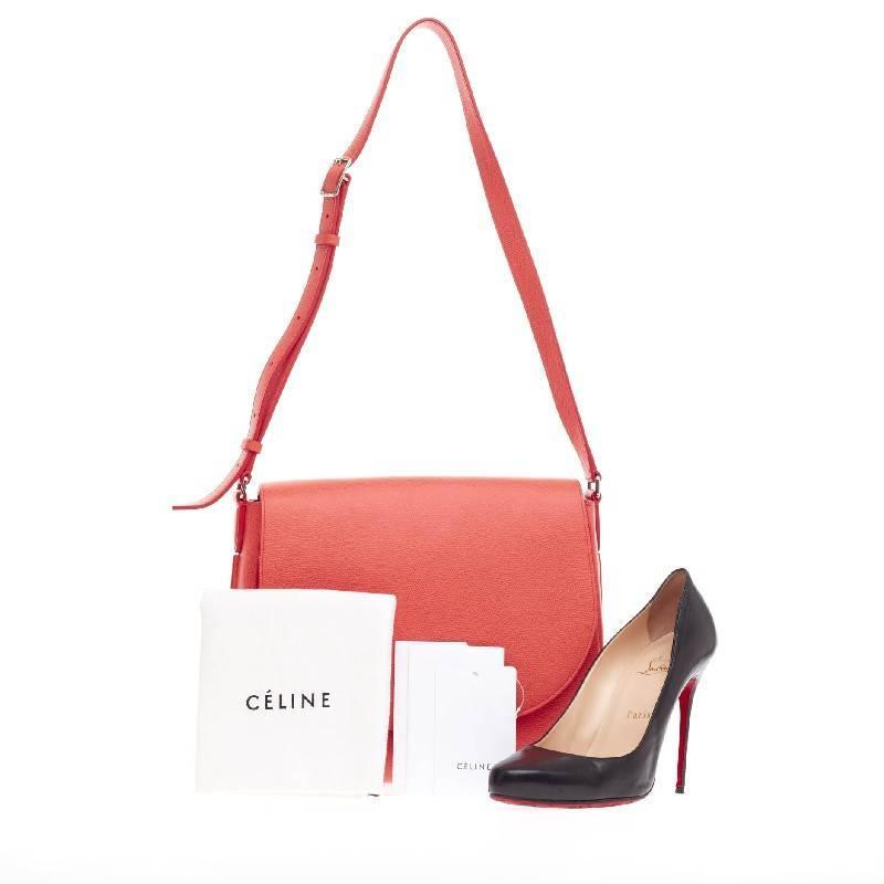 celine trotteur leather crossbody bag