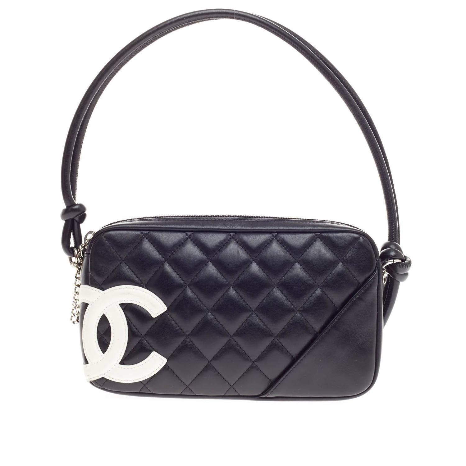 009f597d7916 Chanel Cambon Pochette Quilted Leather at 1stdibs