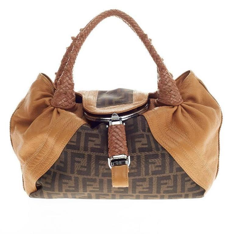 a73fbd918054 ... new zealand fendi spy bag zucca canvas and leather medium for sale  eceb1 c9e82