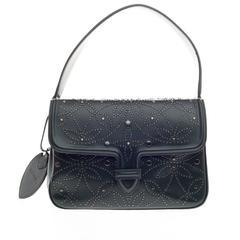 Alaia Symmetrical Flap Bag Studded Leather