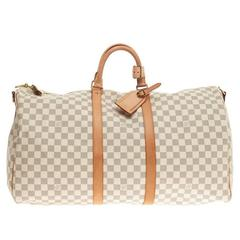 Louis Vuitton Keepall Bandouliere Damier 55