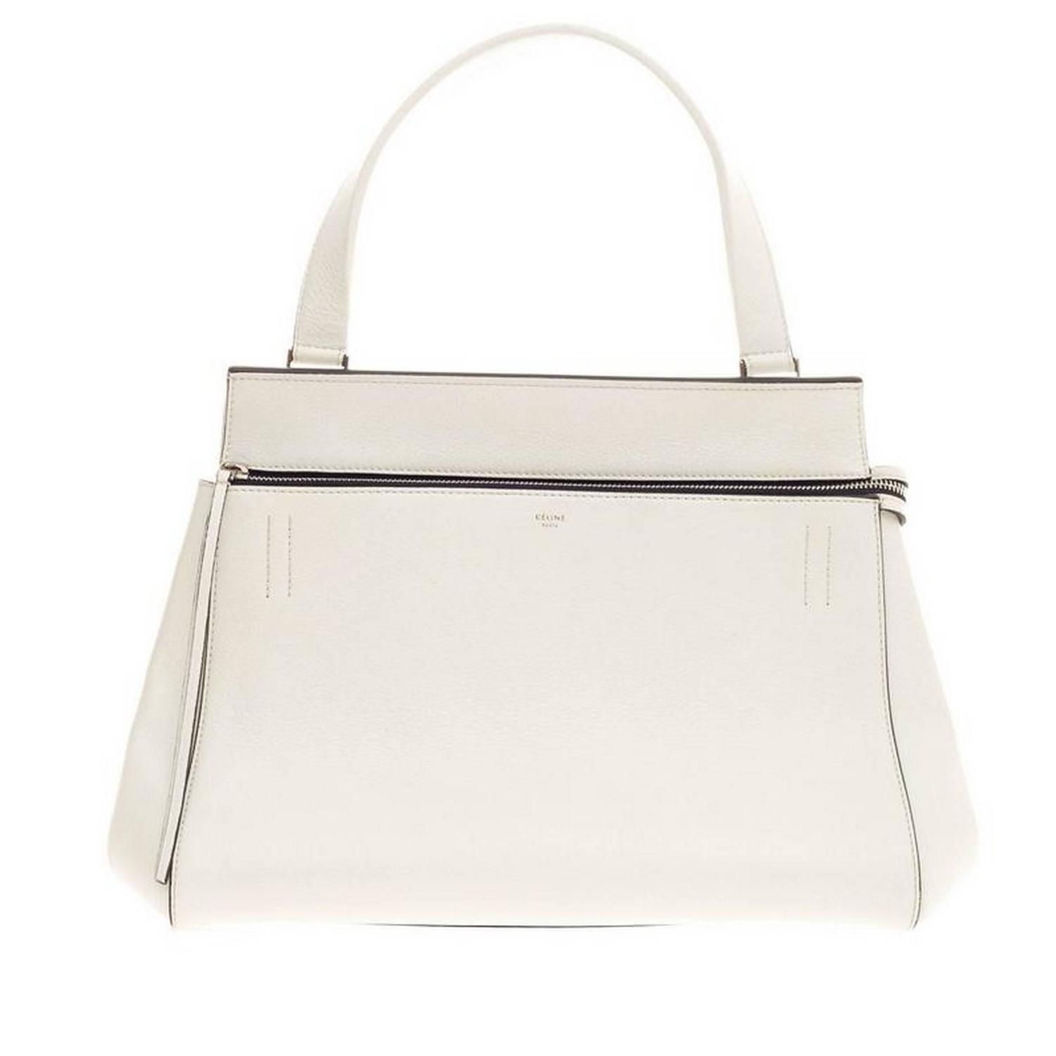 celine micro bags - Celine Edge Bag Leather Medium at 1stdibs