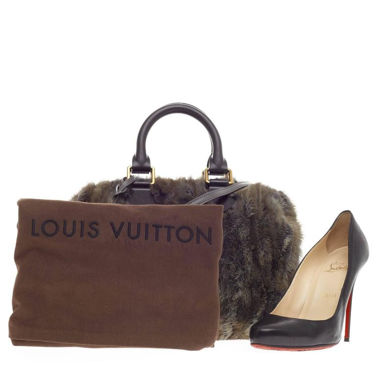 Louis Vuitton Speedy Limited Edition Caresse Mink 25 2