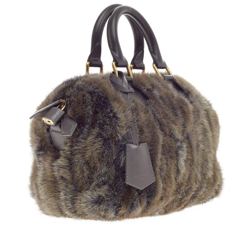 Louis Vuitton Speedy Limited Edition Caresse Mink 25 4