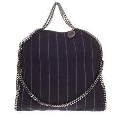 Stella McCartney Falabella Fold Over Wool