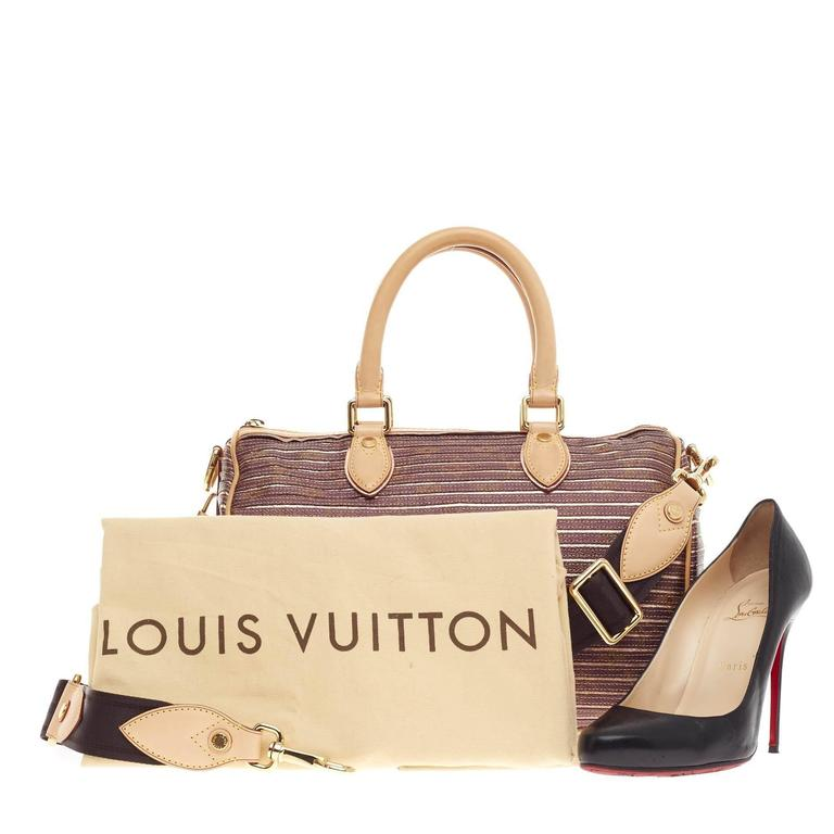 b584135a8bf0 Louis Vuitton Speedy Bandouliere Limited Edition Monogram Eden 30 at ...