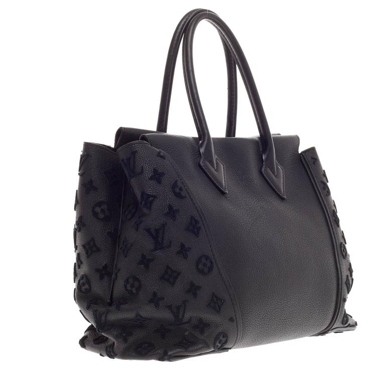 Louis Vuitton W Tote Veau Cachemire PM In Good Condition For Sale In New York, NY