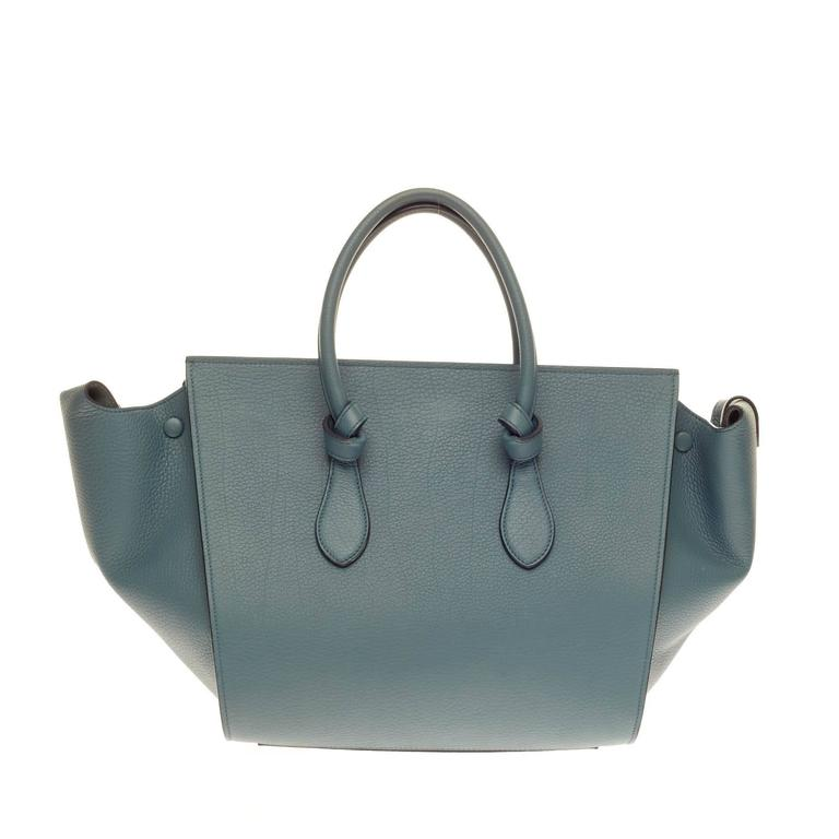 Women's Celine Tie Knot Tote Grainy Leather Large For Sale