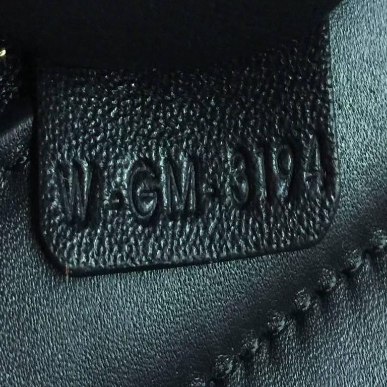 Celine Trapeze Woven Leather Medium 7