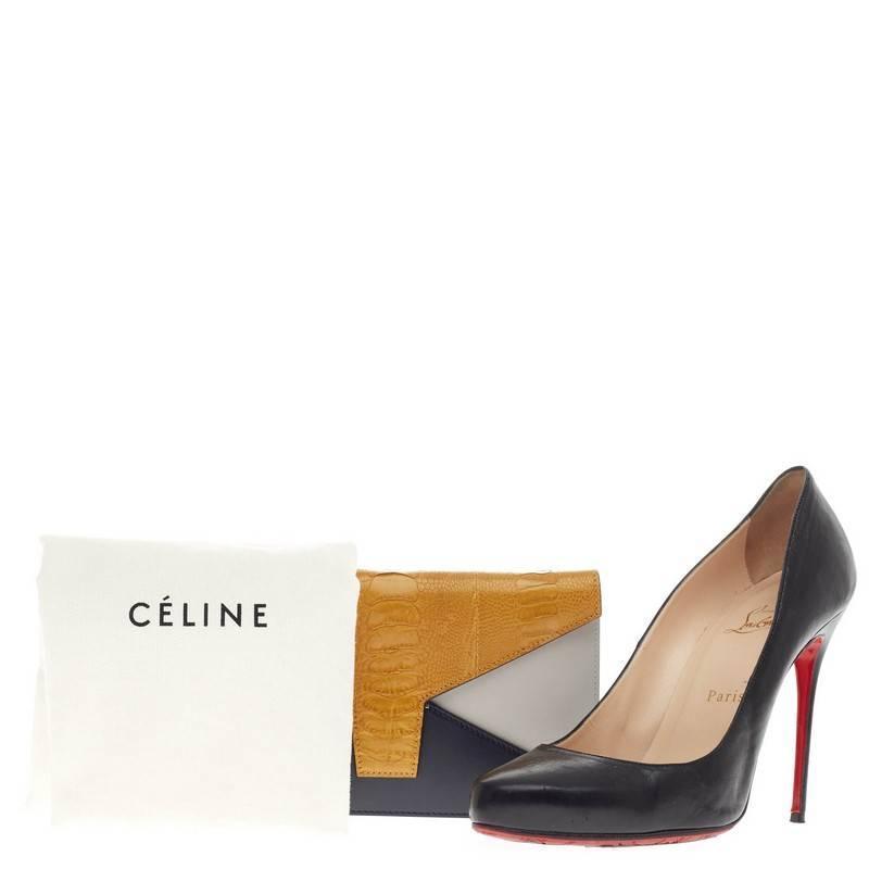 Pre-owned - Ostrich heels Celine 3qOhvYp3Q