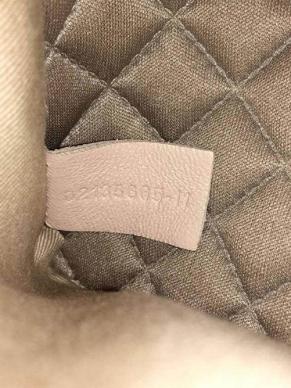 Chloe Lucy Lock Shoulder Bag Leather Medium 8