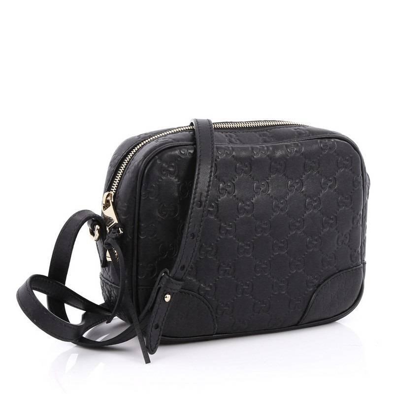 f6108a4cd2a481 Gucci Bree Disco Crossbody Bag Guccissima Leather Mini at 1stdibs