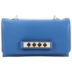 Valentino Va Va Voom Clutch Leather Medium