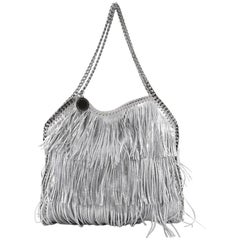 Stella McCartney Falabella Fringe Tote Faux Leather Small