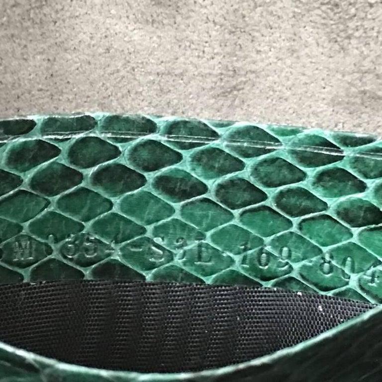 Fendi Wave Baguette Python Micro 8