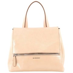 Givenchy Pandora Pure Satchel Patent Medium