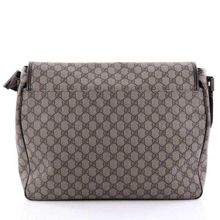 26fcf69c053 Women s or Men s Gucci Interlocking G Messenger Bag GG Coated Canvas Large  For Sale